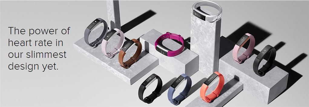 Fitbit AltaHR heart rate