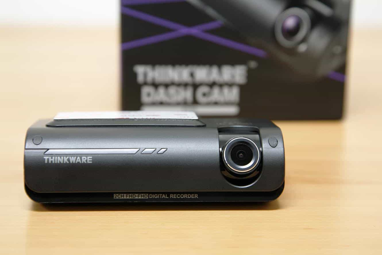 Thinkware F770 Review front lens