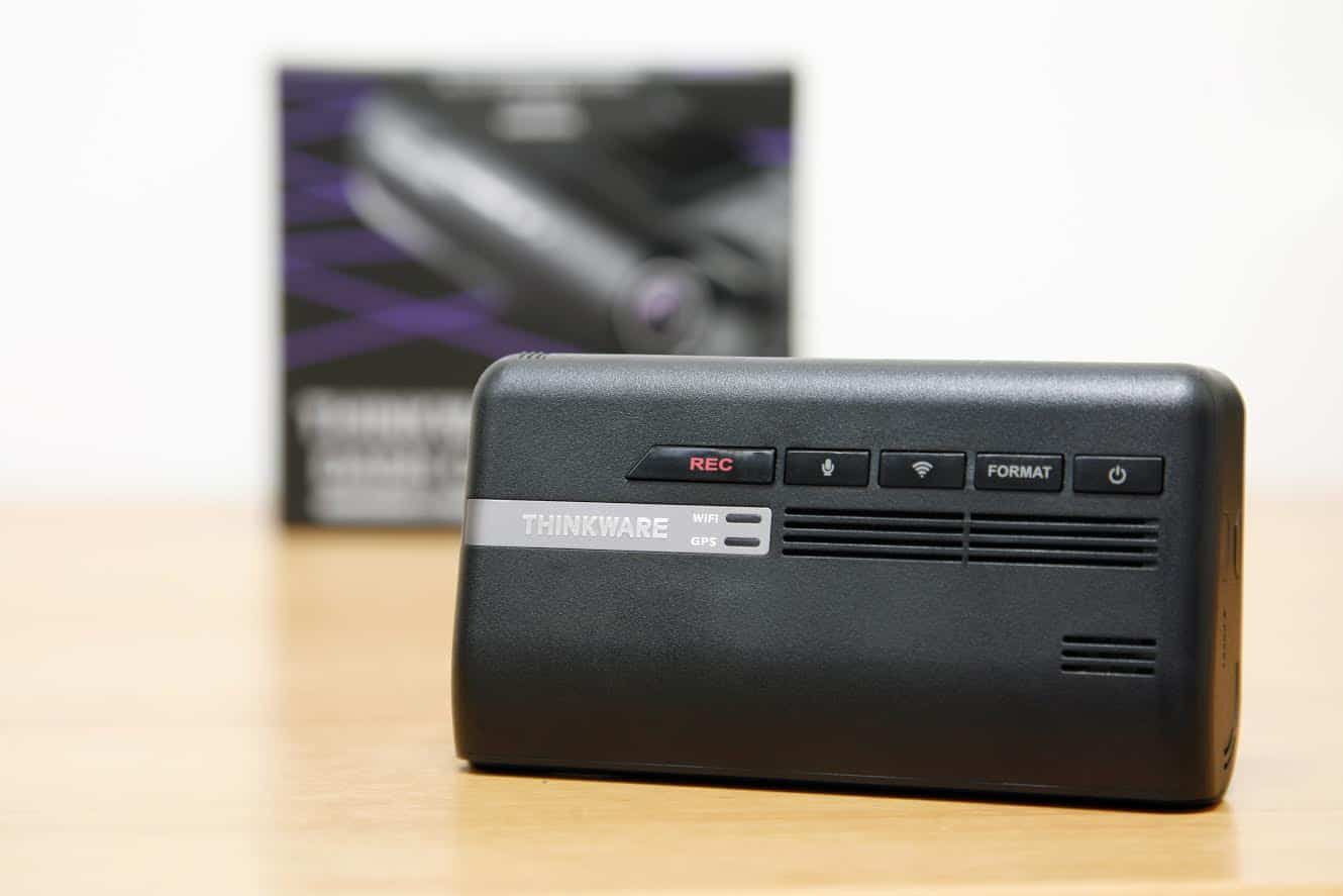 Thinkware F770 Review - front
