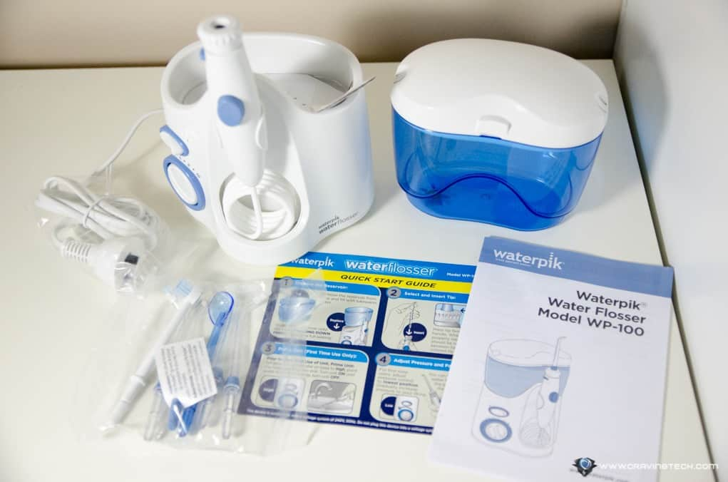 waterpik flossing machine