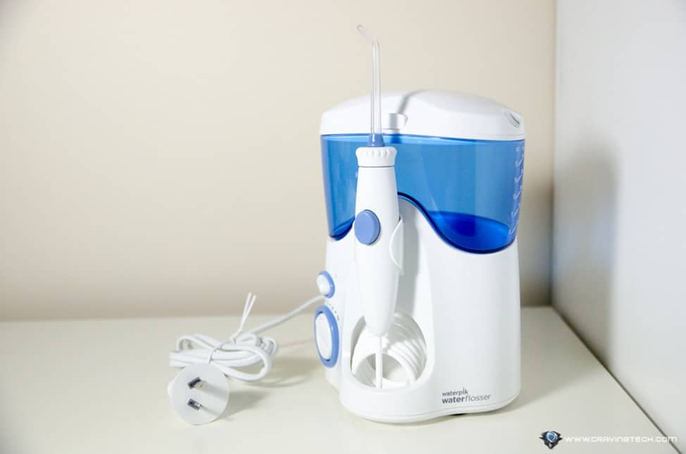 waterpik ultra 100 water flosser review flossing can be fun. Black Bedroom Furniture Sets. Home Design Ideas