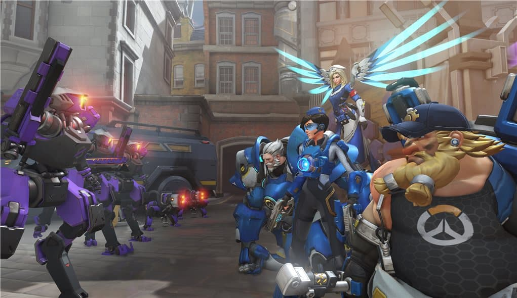 Overwatch Uprising screenshot
