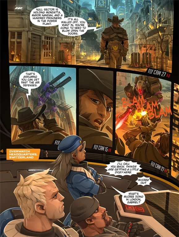 Overwatch Uprising comic