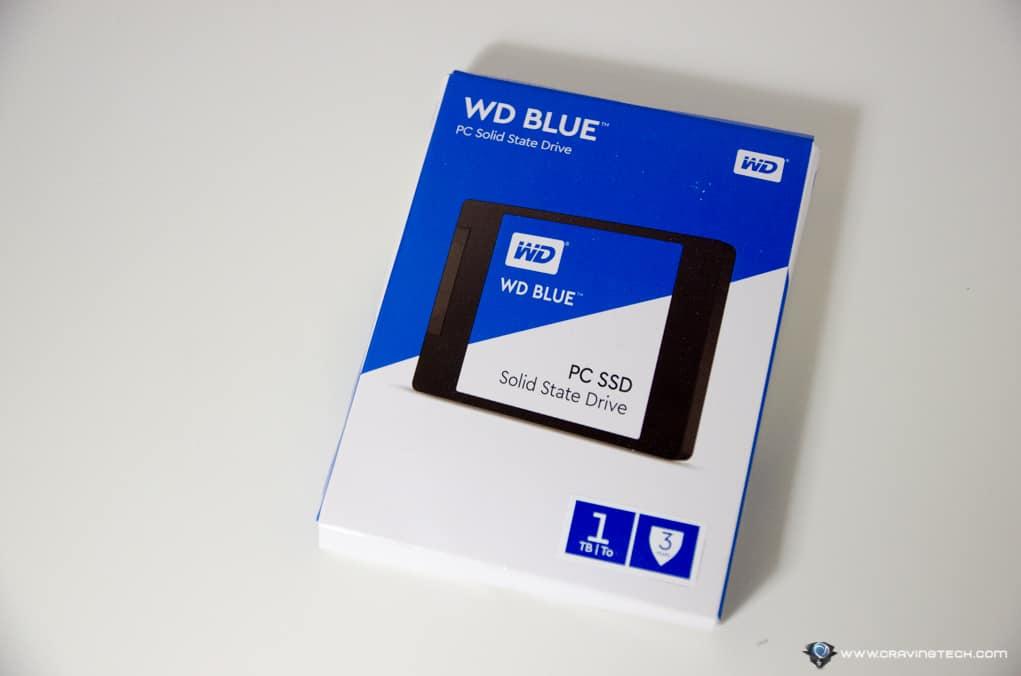 WD Blue 1TB SSD-1