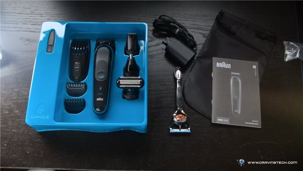 Braun Shaver all in one