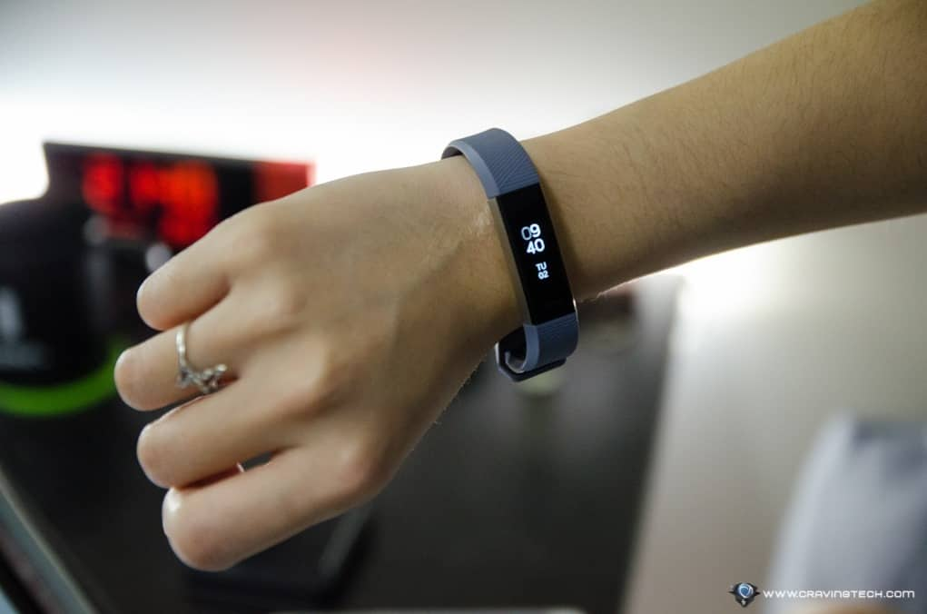 fitbit alta hr review slimmer profile with compelling heart rate tracking. Black Bedroom Furniture Sets. Home Design Ideas