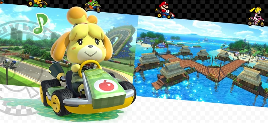 Mario Kart 8 Deluxe on the Nintendo Switch is an excellent game and a must-have, especially if you are not going to play it on your own.
