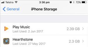 How to save storage space on iPhone