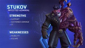 Heroes of the Storm's new Hero, Stukov, is now available to play