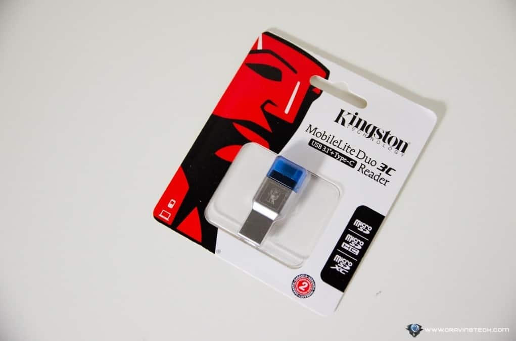 Kingston MobileLite Duo 3C USB Card Reader-1