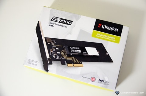Kingston KC1000 NVMe PCIe SSD-1