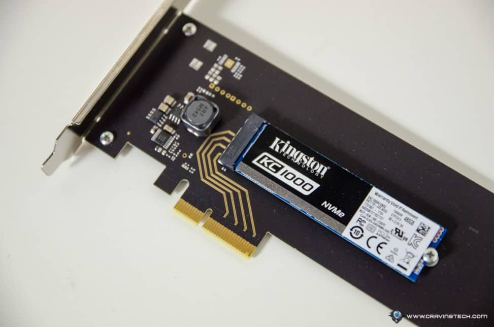 Kingston KC1000 NVMe PCIe SSD-3