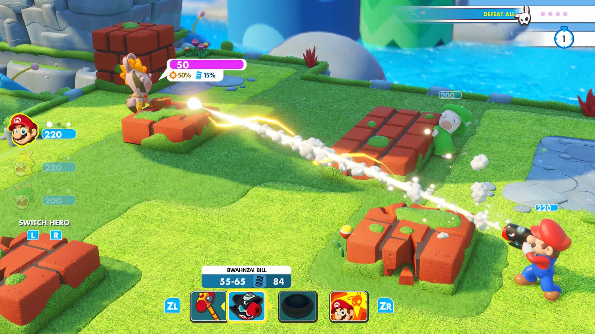 Mario Rabbid Kingdom Battle screenshot