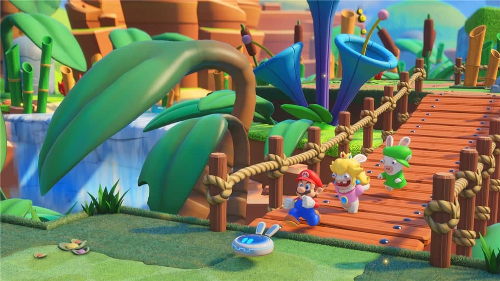 Mario Rabbid screenshot