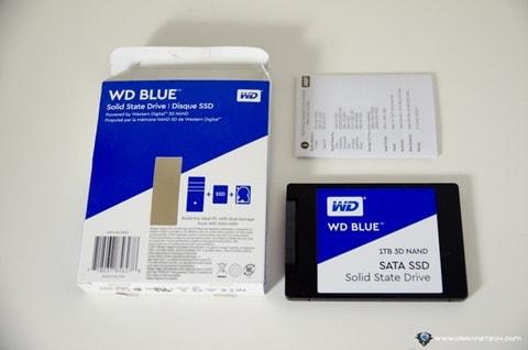 SanDisk WD 3D NAND SSD-3