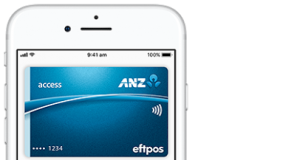 ANZ Apple Pay