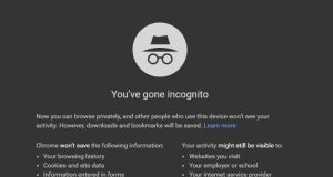 Chrome Incognito