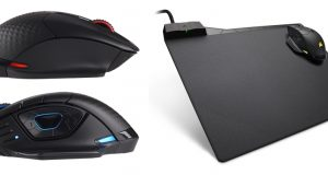 Corsair wireless mouse and mousepad
