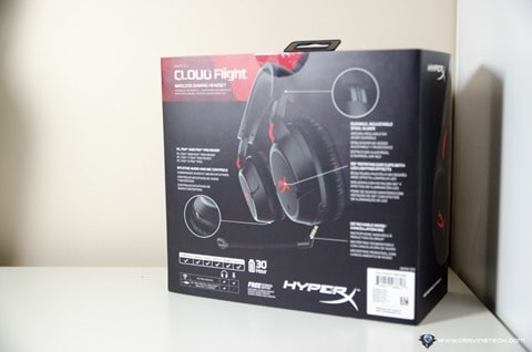 HyperX Cloud Flight Wireless Gaming Headset-2