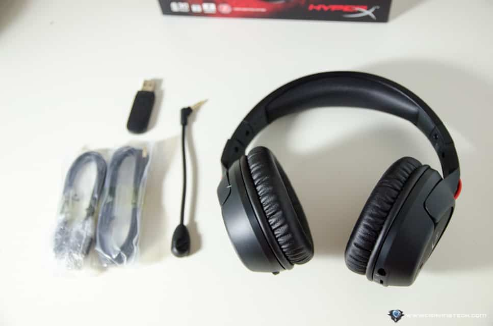 HyperX Cloud Flight Wireless Gaming Headset-3