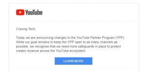 YouTube has just made it harder/stricter to monetise your videos