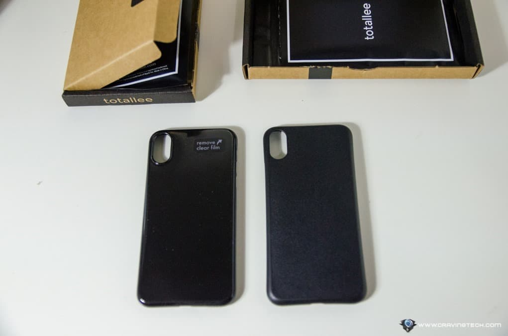 more photos ba0c3 439e6 Totallee iPhone X Case Review - Thin and Minimalist Cases