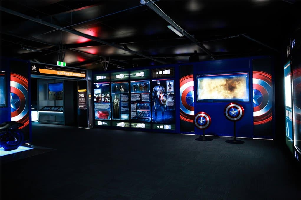 Captain America STATION Melbourne