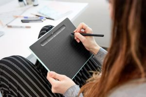 Wacom upgrades their Intuos pen tablet for Creative Beginners and Enthusiasts
