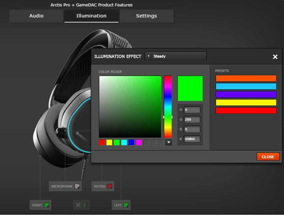 Arctis Pro and GameDAC on SteelSeries Engine