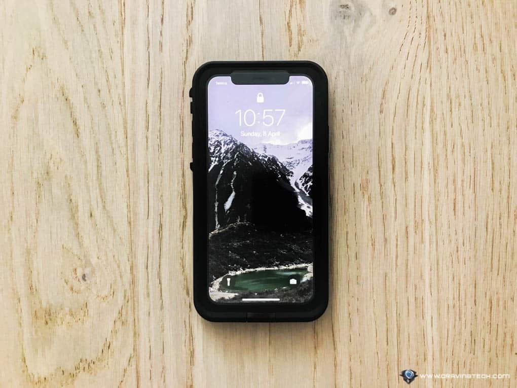 new product 0edb6 3acf5 iPhone X Case Review: LifeProof FRE for iPhone X Case