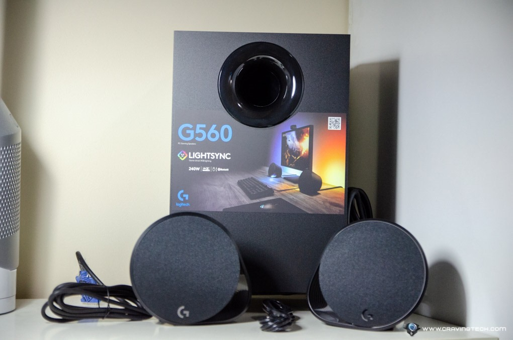 More Immersion in Gaming, Visually and Audibly - Logitech G560