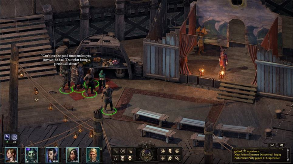 Pillars of Eternity II - Companion Chat