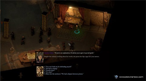 Pillars of Eternity II - Dialogue