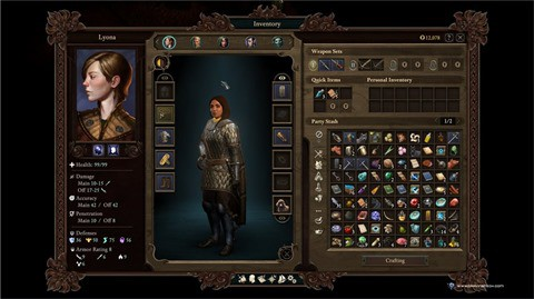 Pillars of Eternity II - Inventory