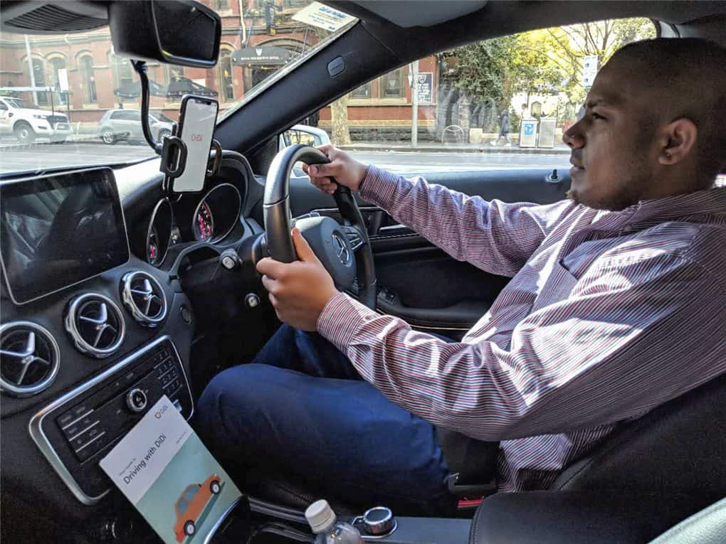 DiDi Melbourne Uber alternative