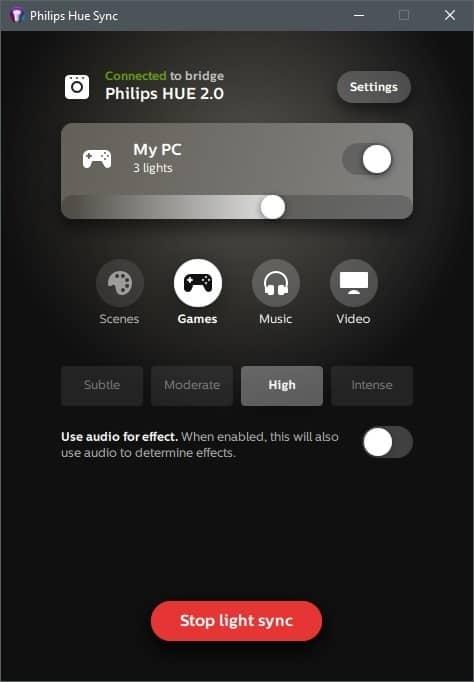 Philips Hue App 1