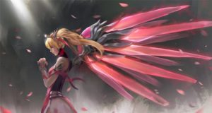 Pink Mercy Wallpaper