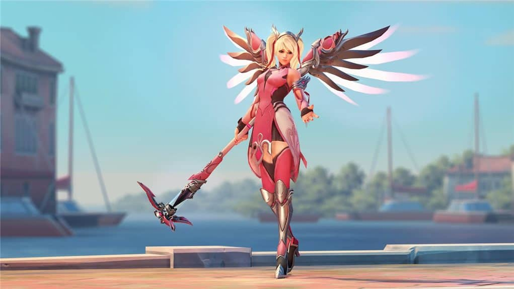 how to get pink mercy twitch emotes