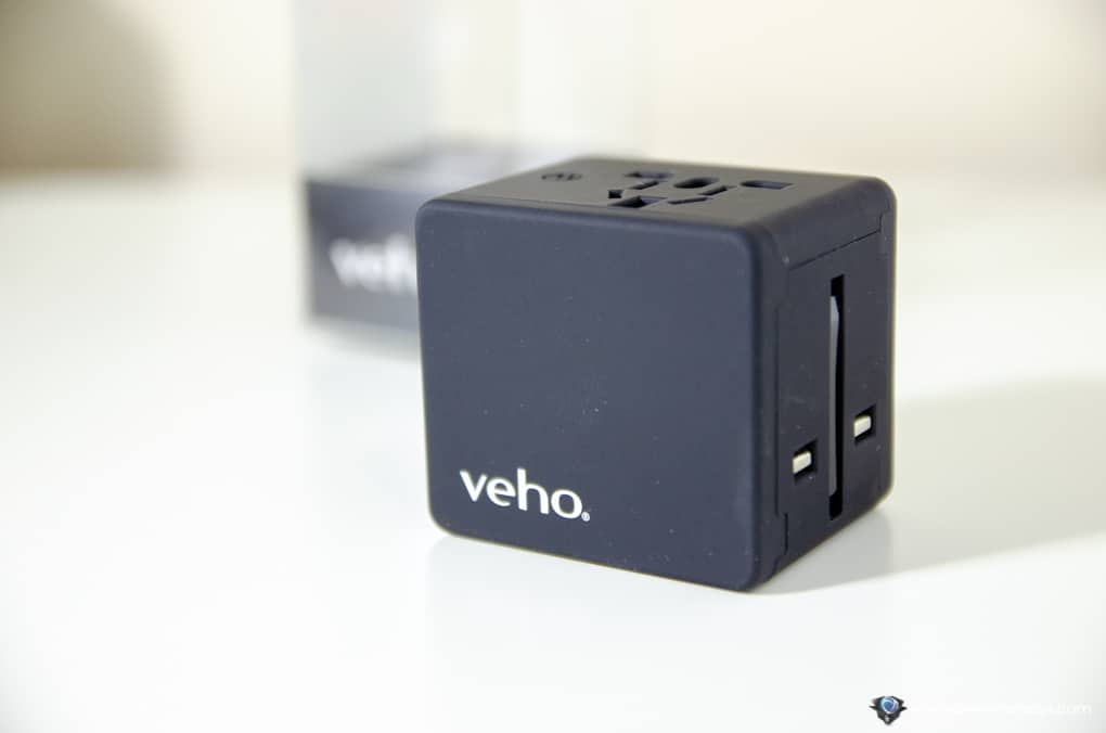 Veho TA-1 Universal 4-Port USB World Travel Mains Charger 3.5A