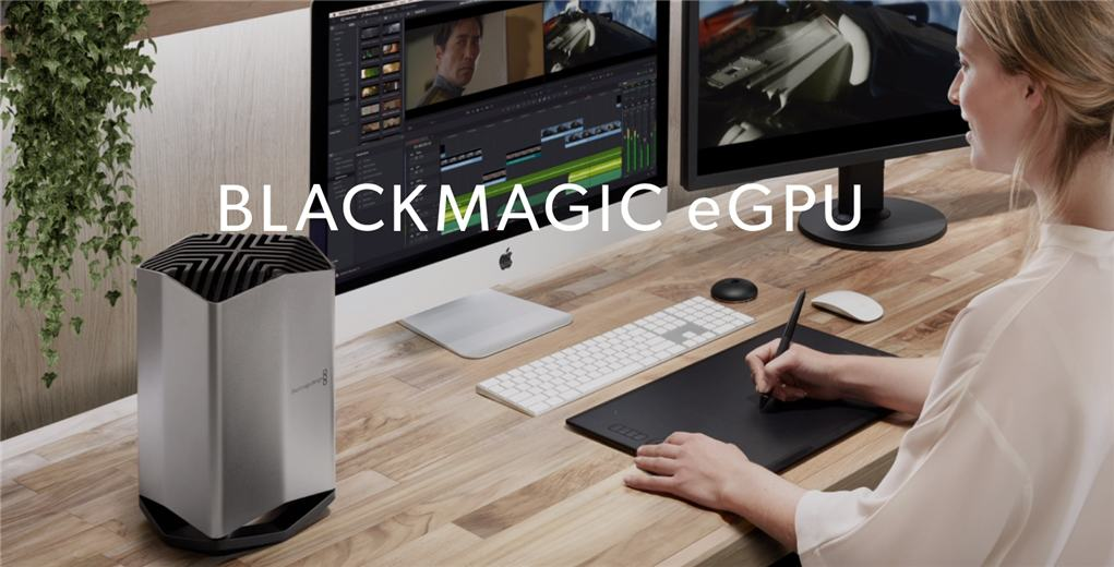 BlackMagic eGPU for MacBook