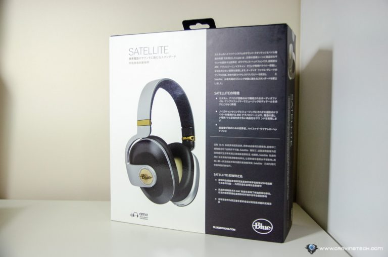 Blue Satellite Bluetooth Wireless headphone-2