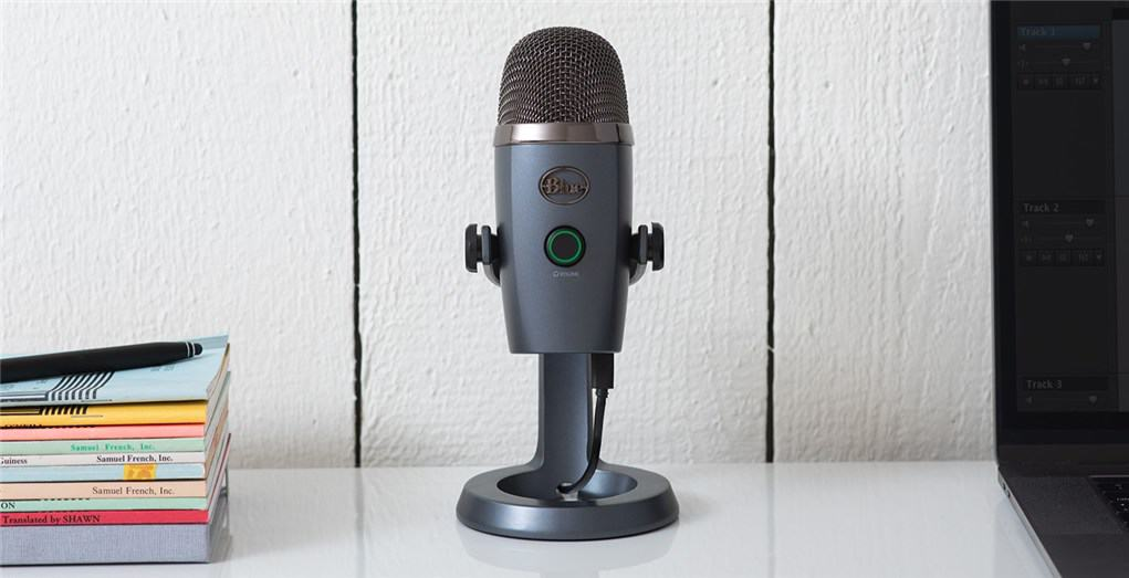 Premium USB Microphone in smaller package – Blue Yeti Nano Review