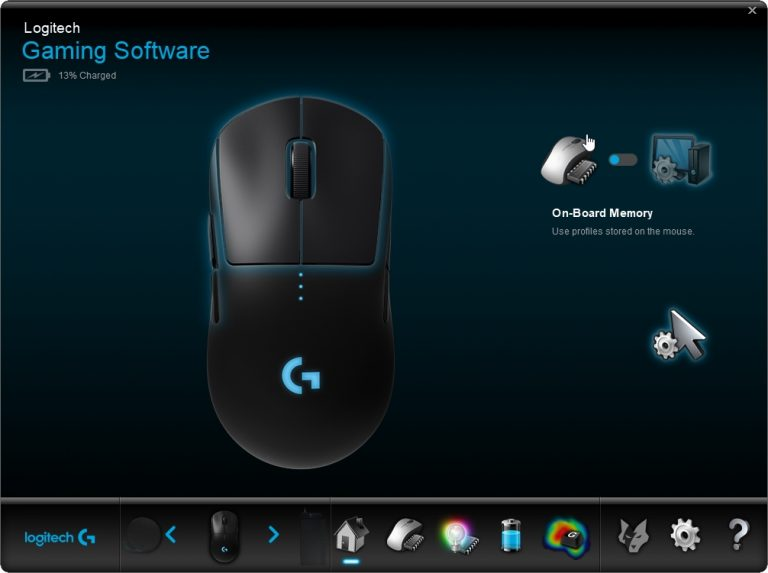Logitech G Pro Wireless software
