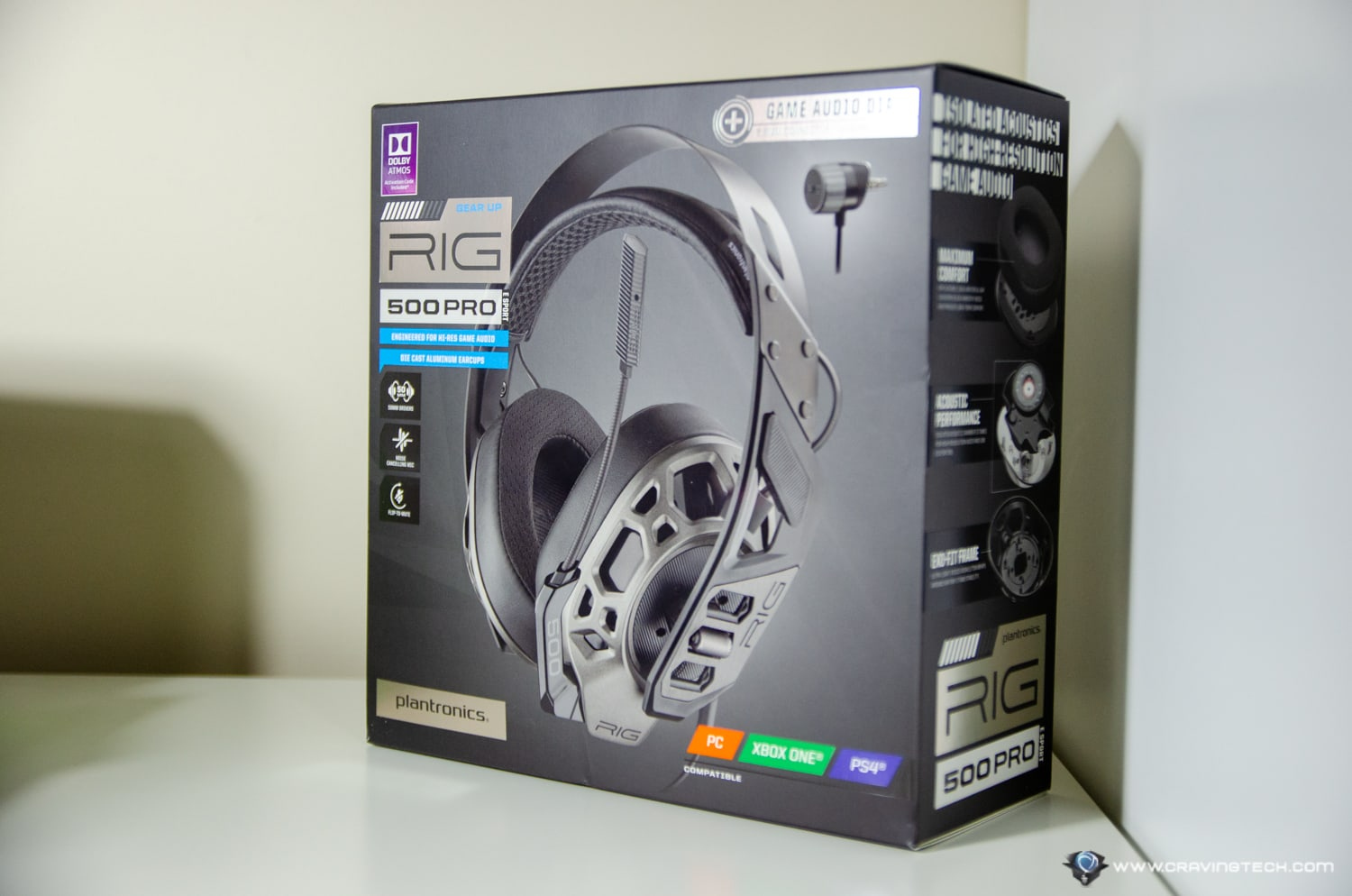 The sound of victory for eSports Players? - Plantronics RIG 500 PRO