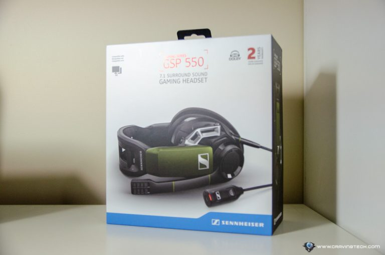 Sennheiser GSP 550 Packaging