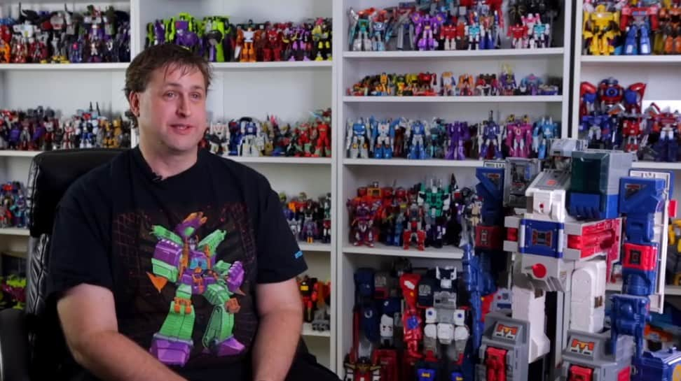 What happens when you have over 6,500 Transformers collectibles