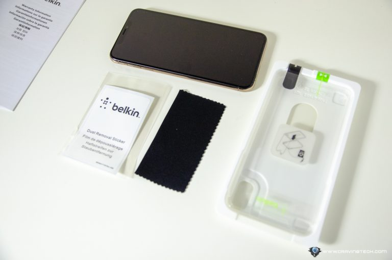 Belkin InvisiGlass Ultra Packaging