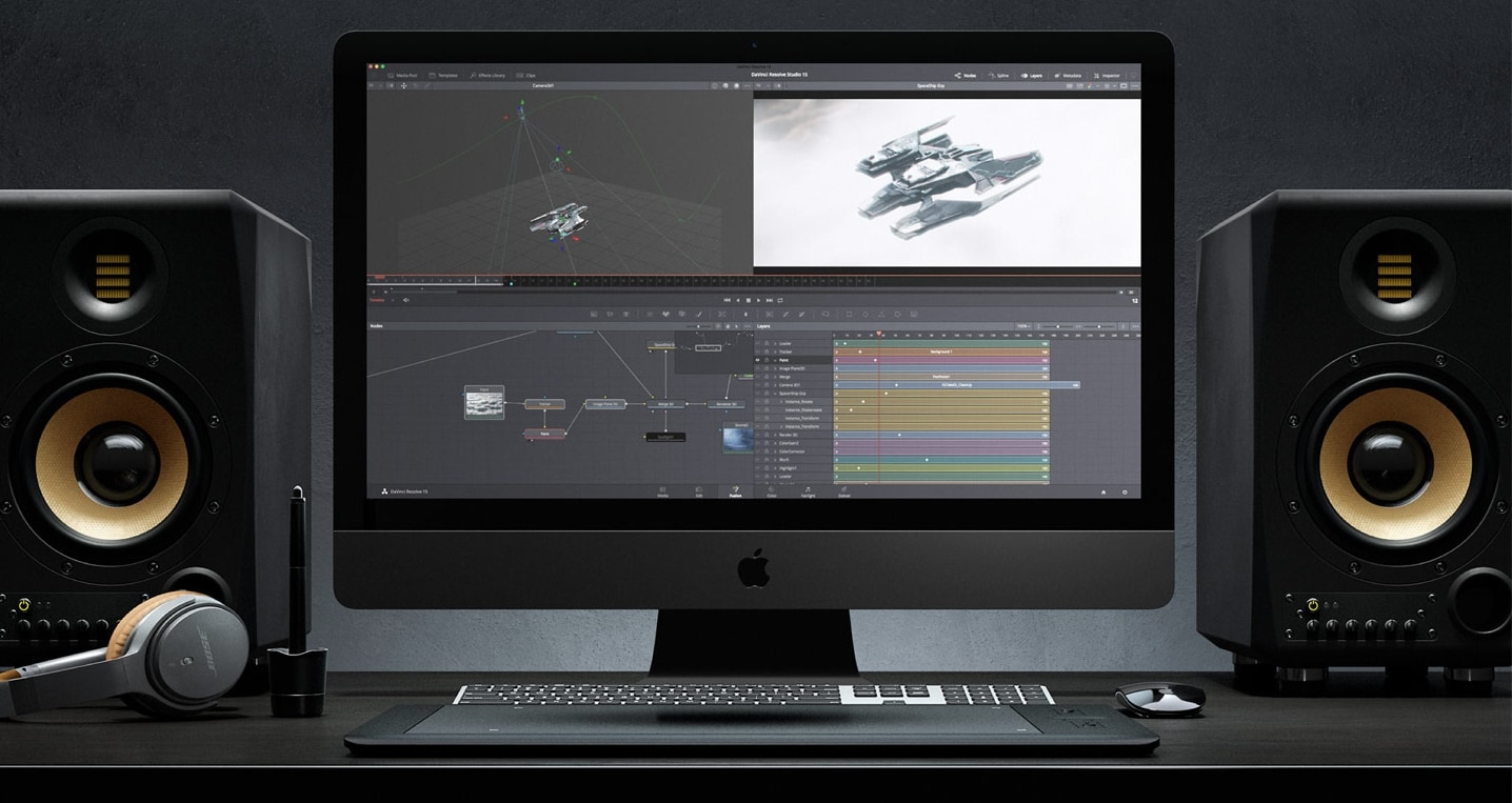 DaVinci Resolve Studio Fusion