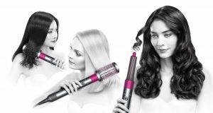 Dyson Airwrap different hair styles