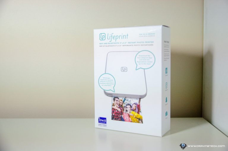 Lifeprint packaging